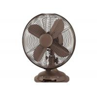 Retro electric Table Fan 3-speed 2 round plug copper motor CE CB VDE
