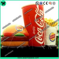 Wholesale Advertising Inflatable Hamburger ,Inflatable Coca-cola Model,Inflatable French Chips from china suppliers