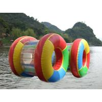 Wholesale 0.9 mm PVC Adults Inflatable Water Toys Water Roller For Boats , Custom from china suppliers