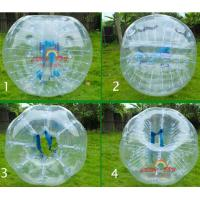 Wholesale Transparent Zorb Football Bumper Ball for soccer game from china suppliers
