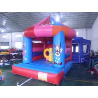 Wholesale Pink Princess Inflatable Bouncy Castle , Park Inflatable Castle from china suppliers