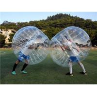 Buy cheap Popular bubble soccer high cost performan loopy ball for play from wholesalers