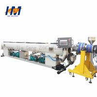 Quality Double Screw Double Wall Corrugated Pipe Extrusion Line ISO / CE Certified for sale