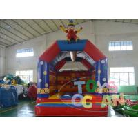 China 5x4m Funny Clown Blow Up Bounce Houses EN14960 Amusement Game on sale
