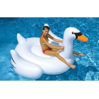 Wholesale pvc inflatable swan rider for adult / swimming pools giant swan rder /500pcs in stock from china suppliers