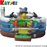 Wholesale KFT003 Inflatable sea funcity,Fun zone for kid,inflatable playland,crazy playgound from china suppliers
