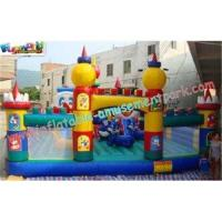 Buy cheap OEM Safety Inflatable Amusement Park Play Structures 14L x 7W x 5H Meter for from wholesalers