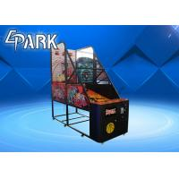 Normal Coin Operated Arcade Basketball Game Machine Metal Cabinet Firm And Durable