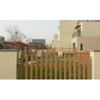 Wholesale Sandalwood WPC Fence panels and Plastic Wood Wall Grid for Countryard from china suppliers