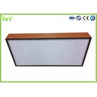 Quality H10 - H14 Efficiency Hepa Filter Replacement , Pleated Panel Air Filters Easy To for sale