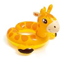 Wholesale Cartoon Animal Baby Swimming Ring , Swimming Pool Inner Tubes 0.25mm Thickness from china suppliers
