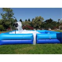 Wholesale Square Portable Water Pool  , Outdoor Fun Party Dance Game Inflatable Soap Foam Pit Pool from china suppliers