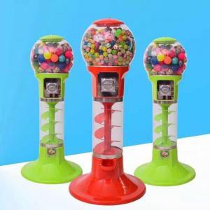 China 110V 220V Spin Capsule Toy Machine / Gum Bouncy Ball Vending Machine on sale