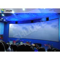 China Animation 9D Movie Theater Stimulating 9D Cinema System With Curve Screen on sale