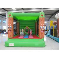 Wholesale Fireproof Materials Kids Jump House , Commercial Indoor Inflatable Bouncer 3 X 4m from china suppliers