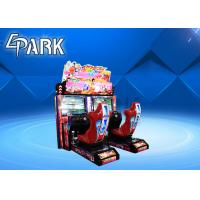 Wholesale Movie Theater Race Car Connection Battle Game Machine Simulator Commercial from china suppliers