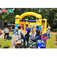 China 2020 Yellow Inflatable Bouncer House Kids Inflatable Bouncer For Outdoor Or Indoor Sport Games on sale