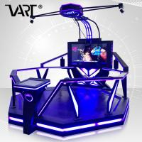 Wholesale 1 Player Large Space Interactive 9D Virtual Reality Games with HTC VIVE VR Glasses from china suppliers