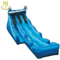 Wholesale Hansel  inflatable party toys  trampoline park large inflatable beach slide from china suppliers