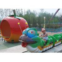 Buy cheap Reliable Theme Park Rides Attractions Roller Coaster Train Sliding Ride For Kids from wholesalers