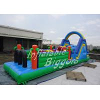 Quality Indoor Inflatable Playground Obstacle Course Equipment 800lbs With CE EN14960 for sale