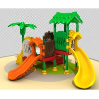 Customized All Plastic Kids Outdoor Play Equipment Easy To Install TQ-QS1274