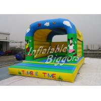 China Backyard Commercial Inflatable Bouncers Rental , Tarpaulin Inflatable Bouncers on sale