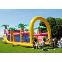 Wholesale Commercial Grade Inflatable Obstacle Race Course Bounce House With Repair Kit from china suppliers