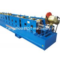 Quality High Standard Steel Downspout Rain Water Gutter Rolling Forming Machine 3 kw Power for sale