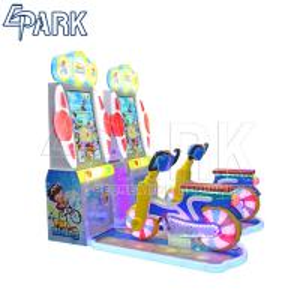 Wholesale Fun Riding Arcade Dance Machine Amusement Bike Simulator 300W 220V from china suppliers