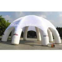 Wholesale 6m Diameter White Inflatable Dome Tent for outdoor event from china suppliers
