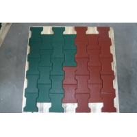Wholesale Non Toxic Playground Ground Cover Rubber Mat Flexible Noise Reduction from china suppliers