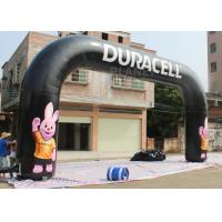 Wholesale Custom Design Inflatable Finish Line Arch Rental Black Color 2 Years Warranty from china suppliers