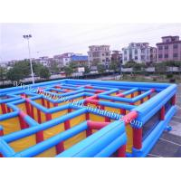 Wholesale inflatable maze , inflatable maze for sale , inflatable corn maze , plastic maze game from china suppliers