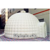 China 6m White Outdoor Inflatable Dome Tent, Inflatable Igloo Tent for Sale on sale
