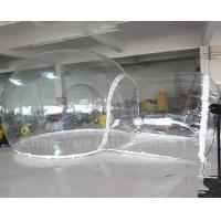 Quality Hot Sale Outdoor Inflatable Bubble Camping Tent with Single Tunnel for sale