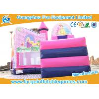 Wholesale Inflatable Princess Castle Bounce House , inflatable jumping castle OEM and ODM  service from china suppliers
