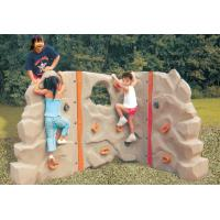 Wholesale Outdoor park safety children plastic climbing wall from china suppliers