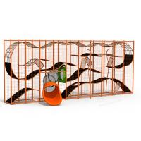 Buy cheap Park Climbing Cage Outdoor Play Structures 3D Maze Ant Playground Equipment from wholesalers