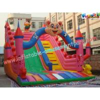 Wholesale Outdoor Durable Cute Inflatable Commercial Inflatable Slide, jumping slide for rental from china suppliers