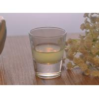 Wholesale Whisky Plain Glass Shot Glasses 2 Ounce Colored Dishwasher Safe from china suppliers
