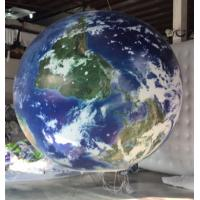 Buy cheap Inflatable advertising globe ball outdoor,Inflatable fly large ball from wholesalers