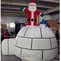 Wholesale Customized Christmas Decorations Inflatable Santa Claus for Party Supplies from china suppliers