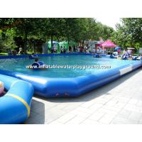 China Water Park Inflatable Above Ground Pools, Commercial Inflatable Swimming Pond on sale