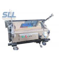 Buy cheap Self Leveling Pole Folding Automatic Wall Plastering Machine Light Weight from wholesalers