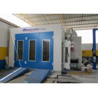 Quality 8M Downdraft Standard Paint Booth Color Optional With Stainless Steel Heat Exchanger for sale