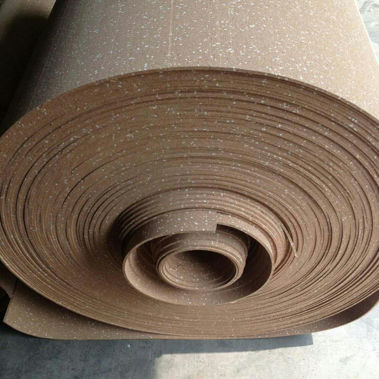Wholesale Coloured Rubber Flooring Rolls , Anti - Sipping Exercise Flooring Rolls from china suppliers