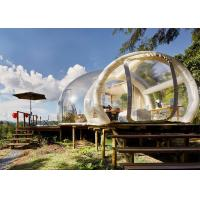 Quality Large Inflatable Bubble Tent 3 / 4 / 5 / 6 Meter Dia OEM / ODM Service for sale