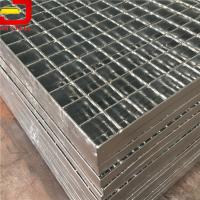 China Heavy Duty Bar Welded Steel Bar Grating , Galvanized Steel Grating For Stair Treads on sale