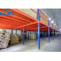Wholesale 2 -levels Industrial Storage Rack Mezzanine Floors with Steel / Plywood Flooring from china suppliers